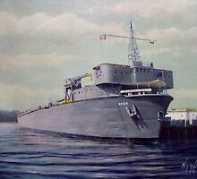 USS Waterford ARD-5 by cgret82
