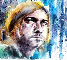 Kurt Cobain by cap3llar
