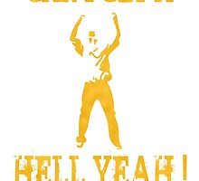 Hell Yeah! (yellow) by spacemonkey89