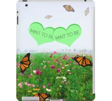 April and Jackson - Mint to be iPad Case/Skin