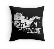 Yippee Ki Yay, Mr. Falcon Throw Pillow