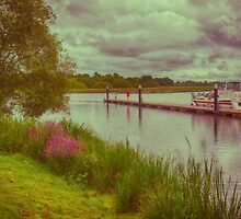 Upper Lough Erne in Fermanagh by Alan Campbell