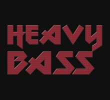 Heavy Bass T-Shirt - I Love Bass Music Top by deanworld