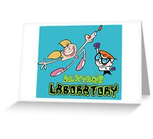 Dexter and dee dee - Dexters lab Greeting Card