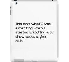 Glee Club iPad Case/Skin
