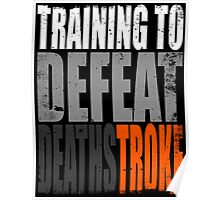 Training to DEFEAT DEATHSTROKE Poster