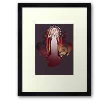 Our Mother of Dragons Framed Print