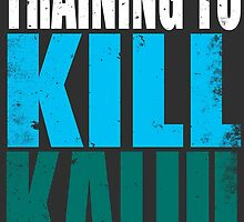 Training to KILL KAIJU by Penelope Barbalios