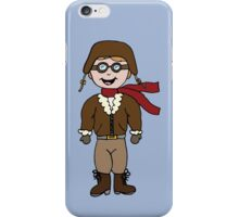 Pilot - Fly Me To The Moon iPhone Case/Skin