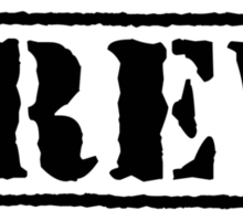 Epic Army Font Crew (Light) Sticker
