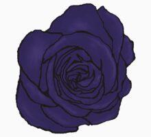 Open Purple Rose Kids Clothes