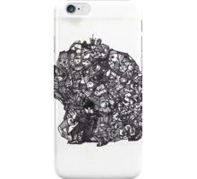 Brain Boulder Man iPhone Case/Skin