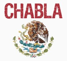 Chabla Surname Mexican Kids Clothes