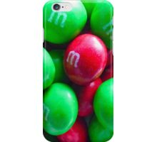 Christmas Peanut Butter M&M's iPhone Case/Skin