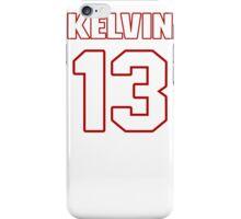 NFL Player Kelvin Benjamin thirteen 13 iPhone Case/Skin