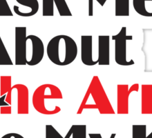 Skyrim - Ask Me About the Arrow (male) Sticker