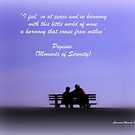 Moments of Serenity by Charmiene Maxwell-batten
