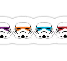 TEENAGE MUTANT NINJA TROOPERS Sticker