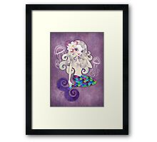 Amethyste Mermaid Framed Print