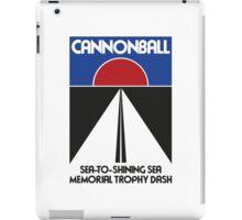 Cannonball Run Memorial Trophy Dash iPad Case/Skin