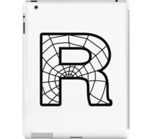 Spiderman R letter iPad Case/Skin