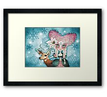 Noelle's Winter Magic Framed Print