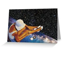 STAR BATHING. Greeting Card