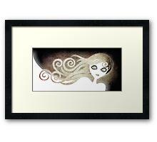 Ghostly Framed Print