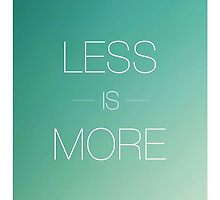 Less is more by Viterbo