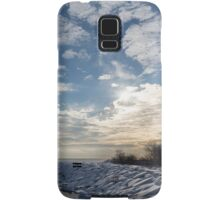 Brilliant Sunshine After the Snowstorm – a Winter Beach on Lake Ontario Samsung Galaxy Case/Skin