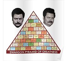 The Swanson Pyramid Poster