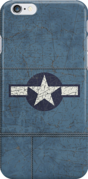 Vintage Look USAAF Roundel Graphic by VintageSpirit