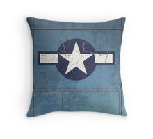 Vintage Look USAAF Roundel Graphic Throw Pillow