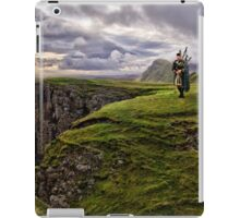 The Bagpipper iPad Case/Skin