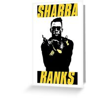 Shabba Ranks Greeting Card