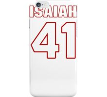 NFL Player Isaiah Lewis fortyone 41 iPhone Case/Skin