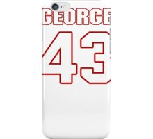 NFL Player George Iloka fortythree 43 iPhone Case/Skin