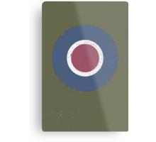 Vintage Look WW2 British Royal Air Force Roundel Metal Print