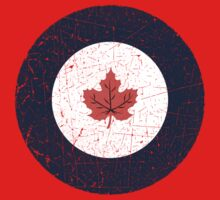 Vintage Look WW2 Royal Canadian Air Force Roundel Kids Clothes