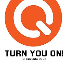 Turn You ON! - Q-Dance '01 New Logo Campaign -Black Font- by Kontrabass32