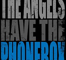 The Angels have the PhoneBox by Penelope Barbalios