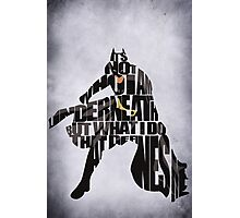 Batman Photographic Print