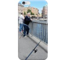 Fishing in the City iPhone Case/Skin
