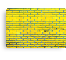 Yellow bricks Canvas Print