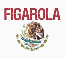 Figarola Surname Mexican Kids Clothes
