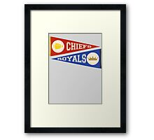 KC PENNANTS Framed Print