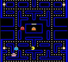 The World of Pac-Man by Tyler-Kiwee