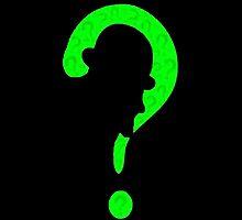 Riddler question mark by Skeegans