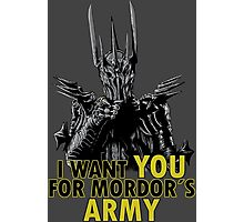 Mordor´s Army Photographic Print