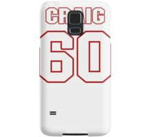 NFL Player Craig Roh sixty 60 Samsung Galaxy Case/Skin